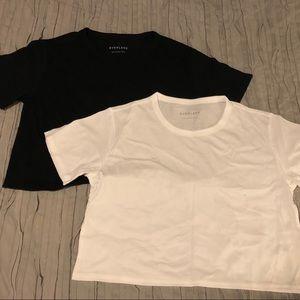 3df7bb1e5e5 Everlane Tops - Everlane Cotton Crop Tee - NWOT